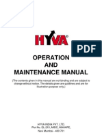 Operation & Maintenance Manual