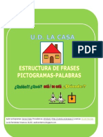 Fichas Estructura Frases Donde Casa