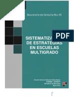 05-Documento Sistematizacion Escuela Multigrado