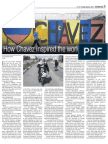 How Chavez Inspired The World