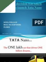Decion Making Tata Nano