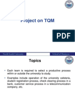 TQM Projects