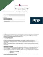 Beoordelingsformulier Afstudeeronderzoek (BAO) 2012-2013