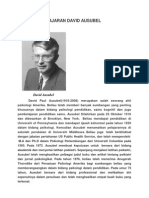 Teori Pembelajaran David Ausubel