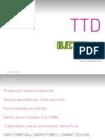 Libro Ttd Objectified