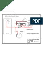 Basic Solar Generator Wiring