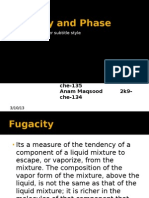 Fugacity and Phase Rule - Copy