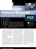 Making Business Processes Manageable