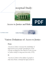 Access to Justice and Rule of Law-Adriaan