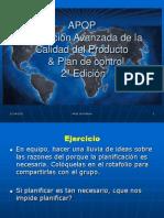7.- Presentacion de APQP