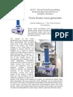 GoTT - Tesla Scalar Wave Generator (Goran Marjanovic)