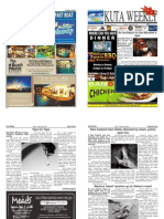 "Kuta Weekly-Edition 326 ""Bali""s Premier Weekly Newspaper"""
