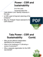 Tata Power Case
