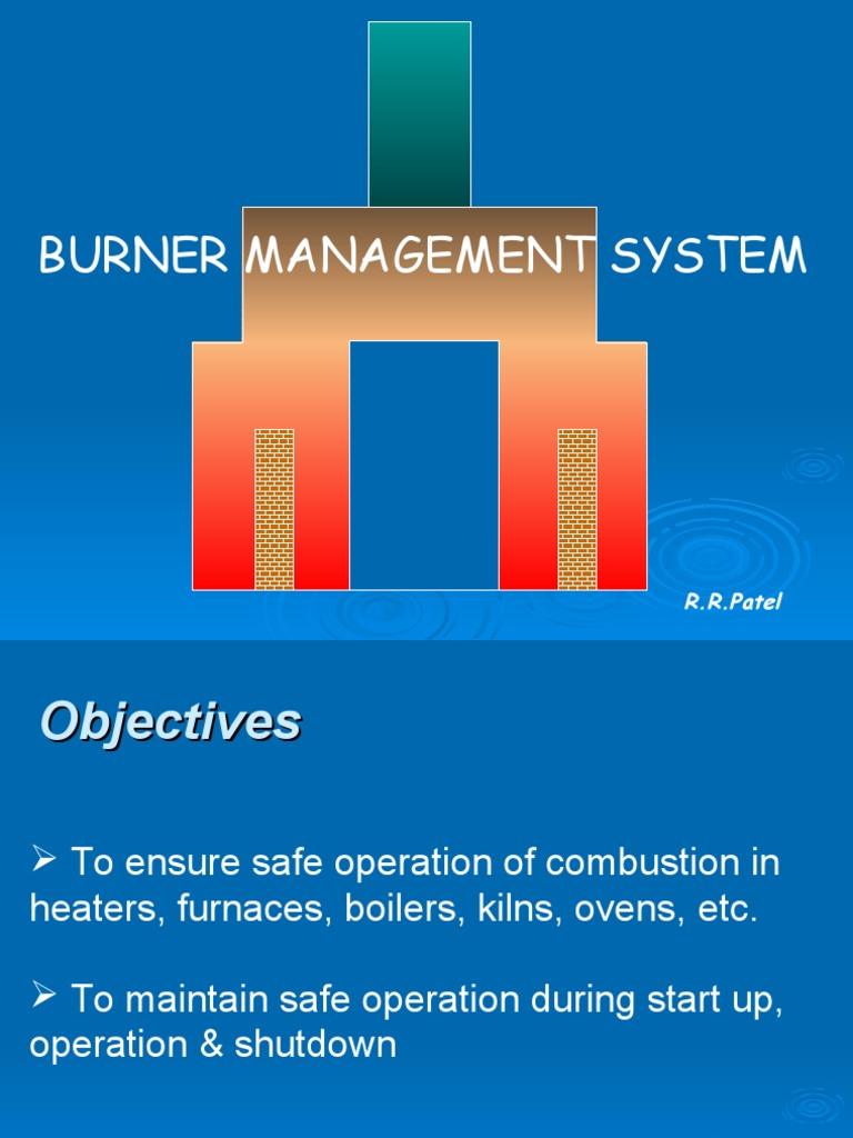 Burner Management System_RRP | Valve | Combustion