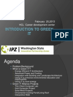 Intro to Green IT February 2010