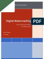 Digital Watermarking - Tesina
