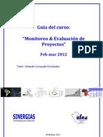 Manual del curso Monitoreo y Evaluación de proyectos feb-mar2012-O-Coronado-S…