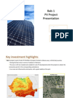 Fotovoltaic Project Romania 2.7 Mw (Brasov)
