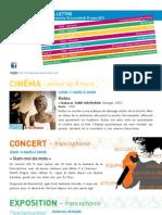 La Lettre de l'IFM Du 10 Au 15 Mars 2013
