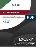 Excerpt Plain Bmr 2011 Social Marketing