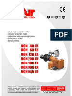BGN 60 LX v-Use and Maintenance Manual(de-En-es-fr-it)