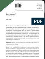 Vida precária - artigo Butler.pdf