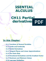 Ch11 Partial Derivatives