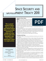 Outer Space Security and Development Treaty 2011