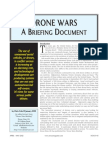 Drone Wars - A Briefing Document