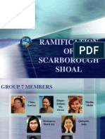 Ramification of Scarborough Shoal