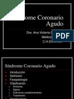 S Ndrome Coronario Agudo
