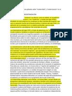 Algunas consideraciones globales sobre modernidad y modernización en el caso colombiano jorge orlando melo