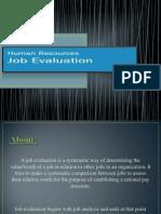 HRM Job Evaluation