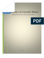 Basics of Carnatic Music