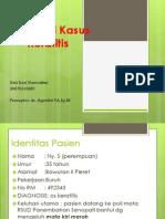 Keratitis Presus