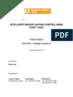 DVA406 Report - Lighting Control Usinf Fuzzy.doc