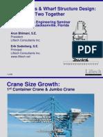 Crane Loads n Wharf Structure