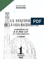 Colección Ecclesia - 01 - Pío XII - La santidad en la vida sacerdotal