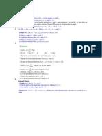 PDE Practicals