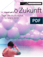 Radio Zukunft Programm