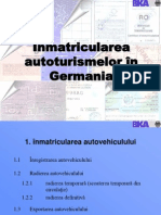 Înmatricularea autoturismelor în Germania