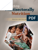 E-Journal- Working Multisectorally in Nutrition