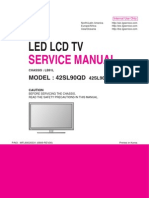 ServiceManuals LG TV LCD 42SL90QD 42SL90QD Service Manual