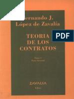 30090304 Lopez de Zavalia Fernando Teoria de Los Contratos TOMO 1 Parte General