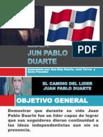 Presentacion Juan Pablo Duarte