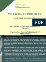 08 - El Informe de Valuacion