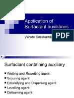 28010526 Textile Auxiliaries Surfactant Auxiliaries
