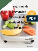 Final Programa de Prevención Primaria de la Obesidad Infantil