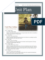 Unit Plan Outdoor Safety