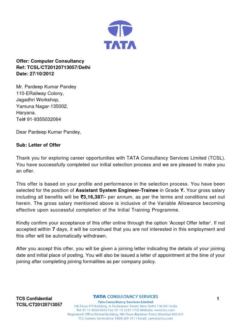 Government job appointment letter format best of joining letter appointment letter template offer letter insurance economies spiritdancerdesigns Images